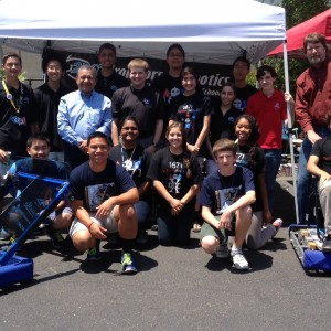 FRC Teams at the Mexican Consulate